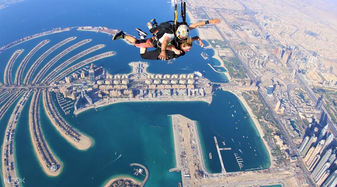skydiving dubai